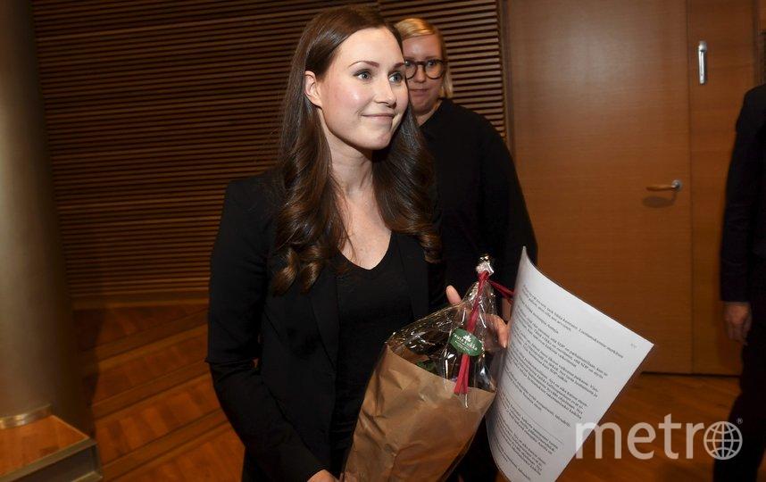 Санна Марин. Фото AFP