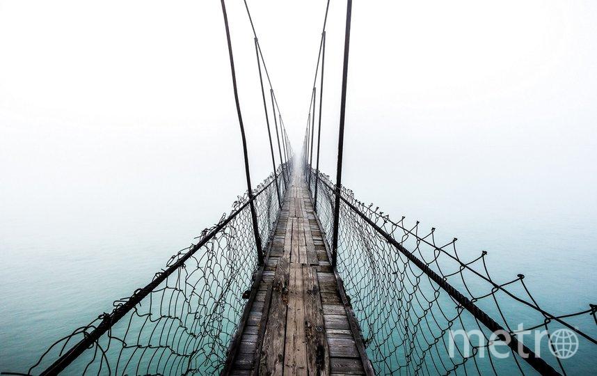 Мост в тумане. Фото Владимир Косарев | Russia