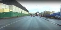 Юного водителя-нарушителя задержали со стрельбой на Стачек в Петербурге