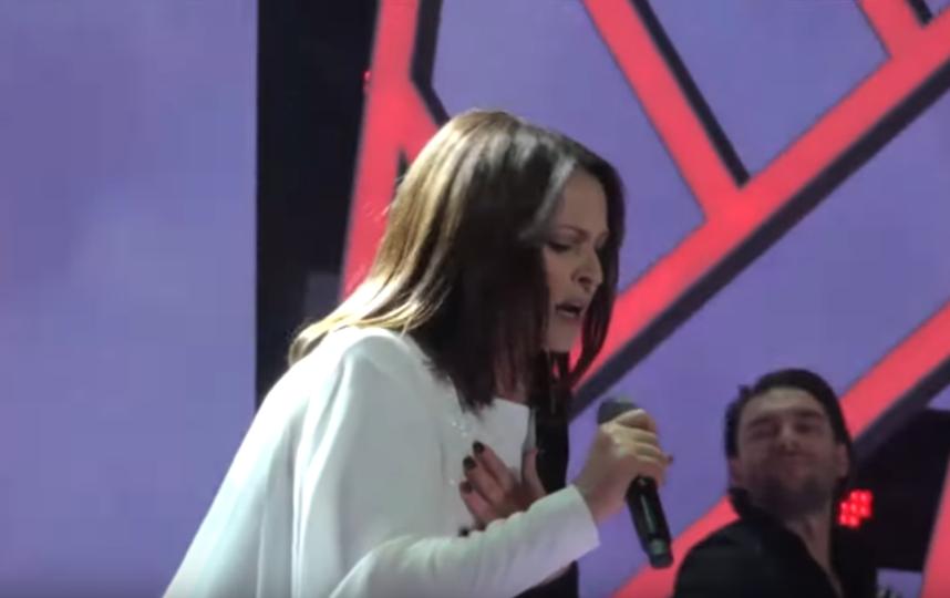 София Ротару на концерте. Фото Скриншот Youtube