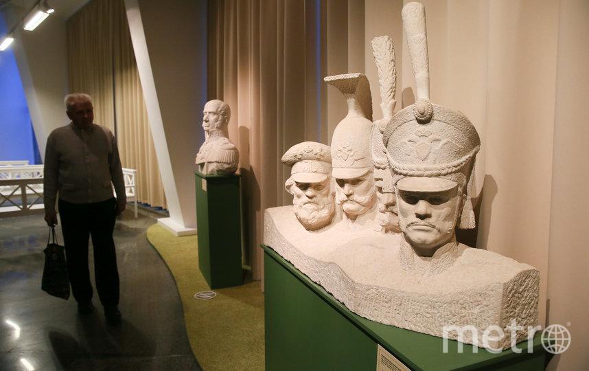В музее-панораме «Бородинская битва» открылась новая гостиная. Фото Василий Кузьмичёнок
