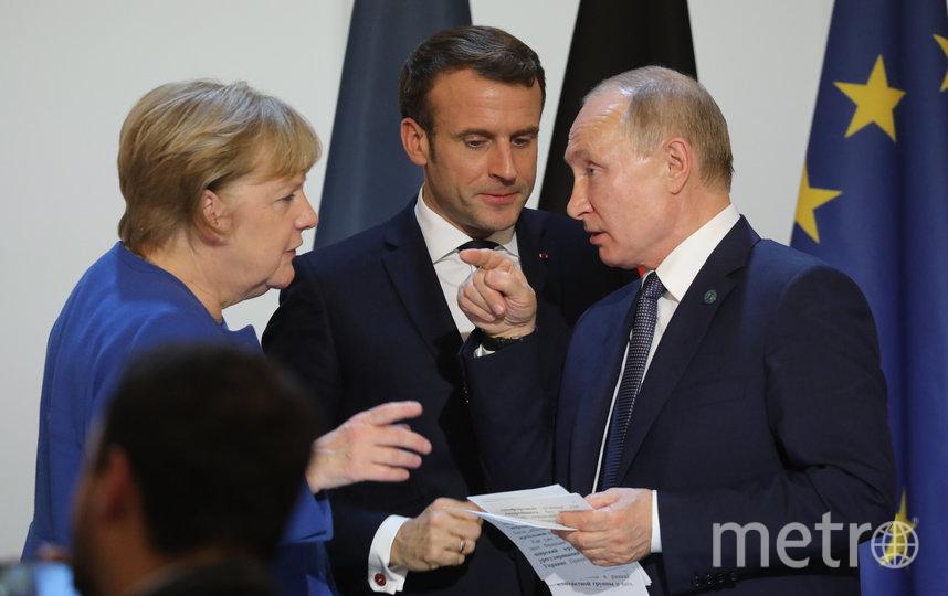 """Встреча """"нормандской четвёрки"""". Фото AFP"""