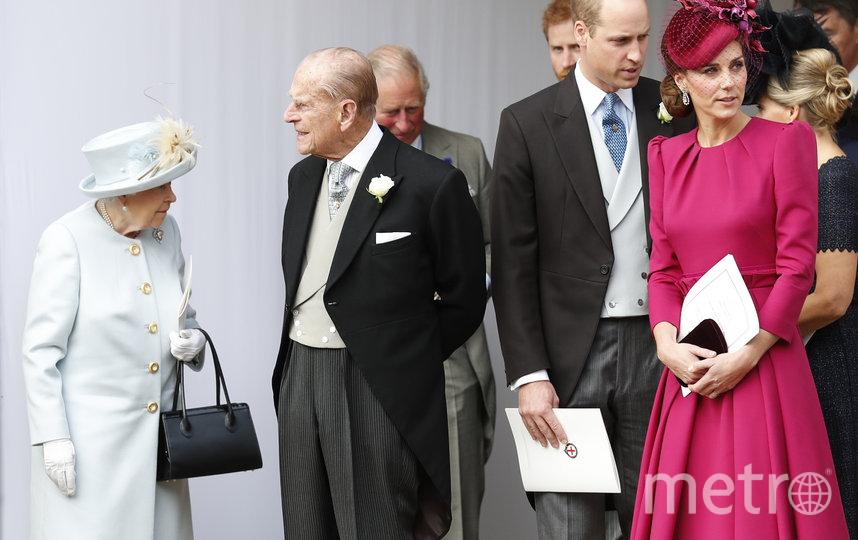Октябрь, 2018 - на свадьбе принцессы Евгении. Фото Getty