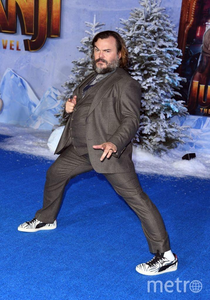 """Премьера """"Джуманджи: Новый уровень"""" в Голливуде. Джек Блэк. Фото Getty"""