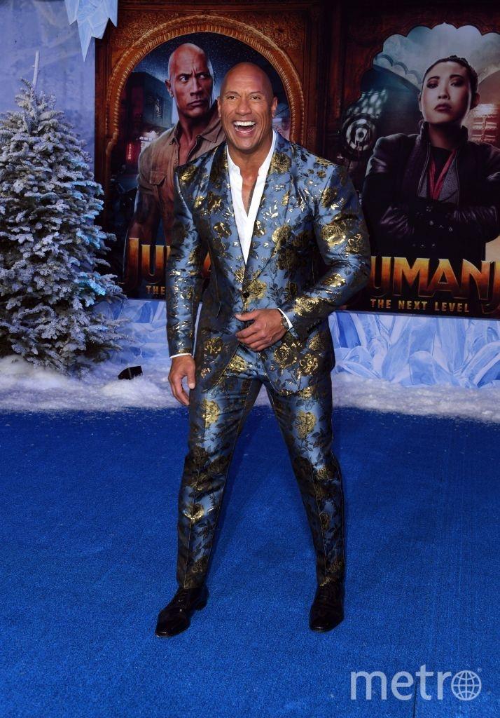 """Премьера """"Джуманджи: Новый уровень"""" в Голливуде. Дуэйн Джонсон. Фото Getty"""