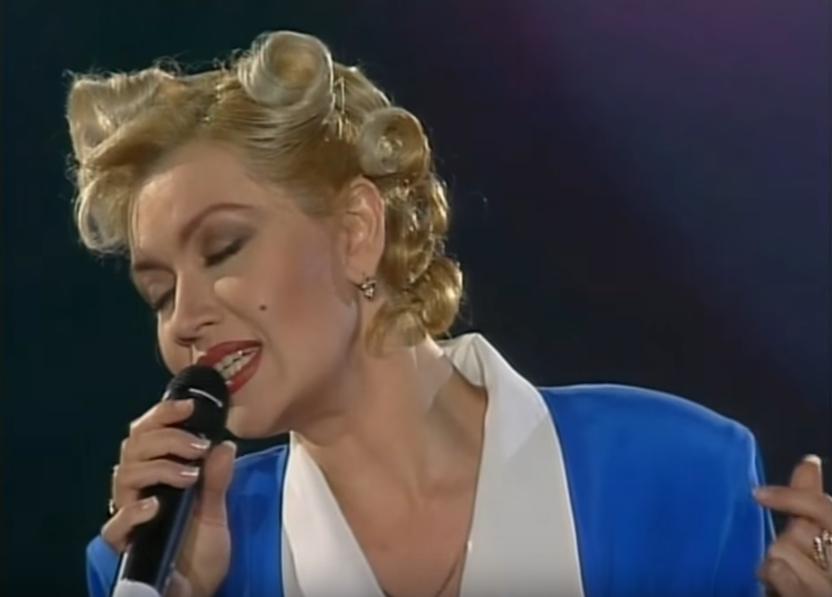 Таисия Повалий в молодости. Фото Скриншот Youtube