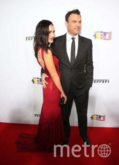 Меган Фокс с мужем Брайаном Остином Грином. Фото Getty
