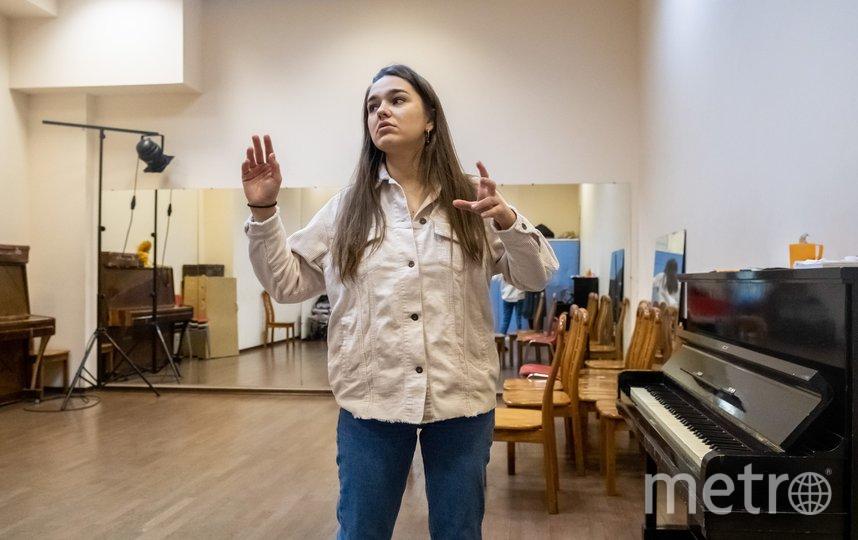 """В репетиционном зале. Фото Алена Бобрович, """"Metro"""""""
