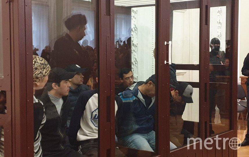 Террористам, устроившим взрыв в метро Петербурга, огласили сроки. Фото Дарья Лебедева, Объединенная пресс-служба судов Петербурга