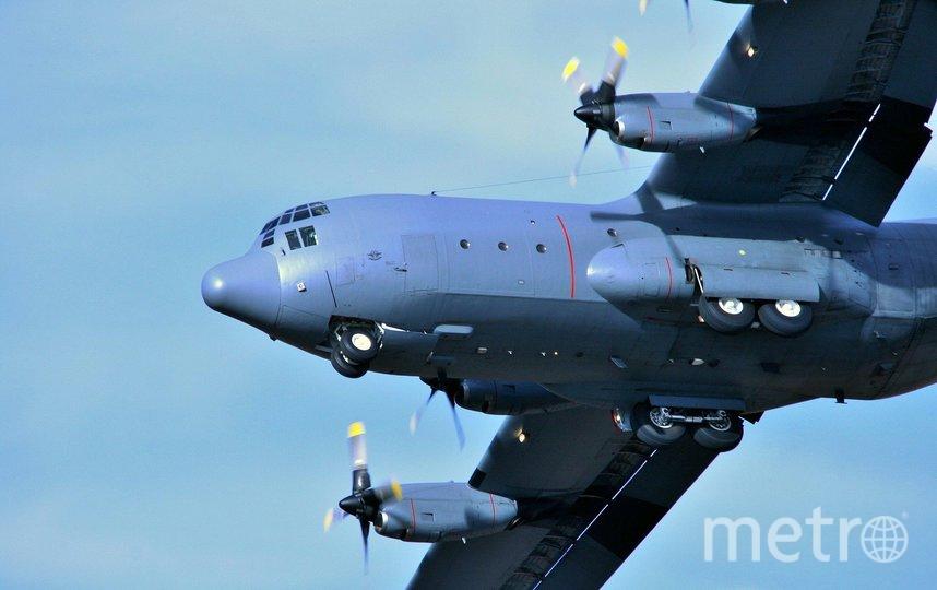 Самолёт C-130. Фото pixabay.com