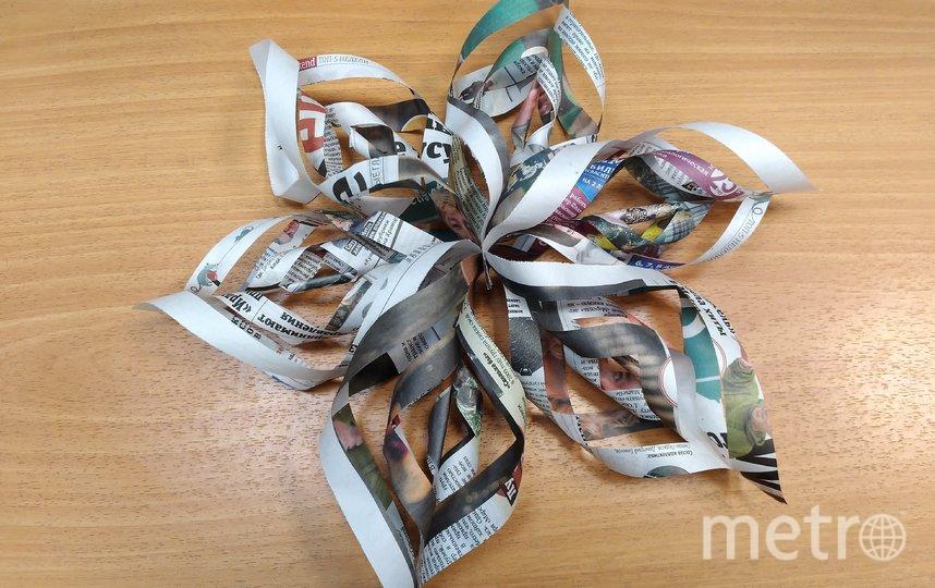 "Марина Воробьева сделала прекрасную снежинку. Фото Марина , ""Metro"""