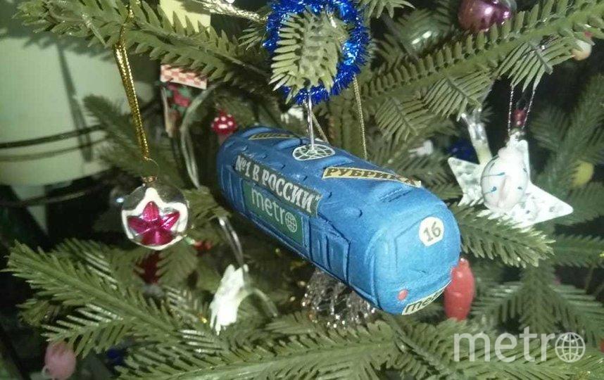 """5-летний Слава Панов сделал с мамой игрушку в виде вагона метро. Фото Анна, """"Metro"""""""