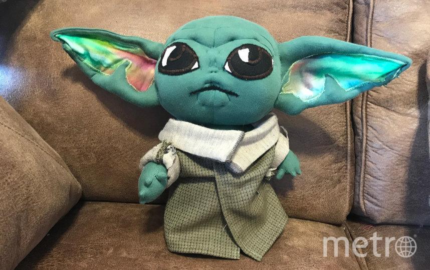 """Нового персонажа """"Звёздных войн"""" сделали из шерсти и пряжи. Фото reddit"""