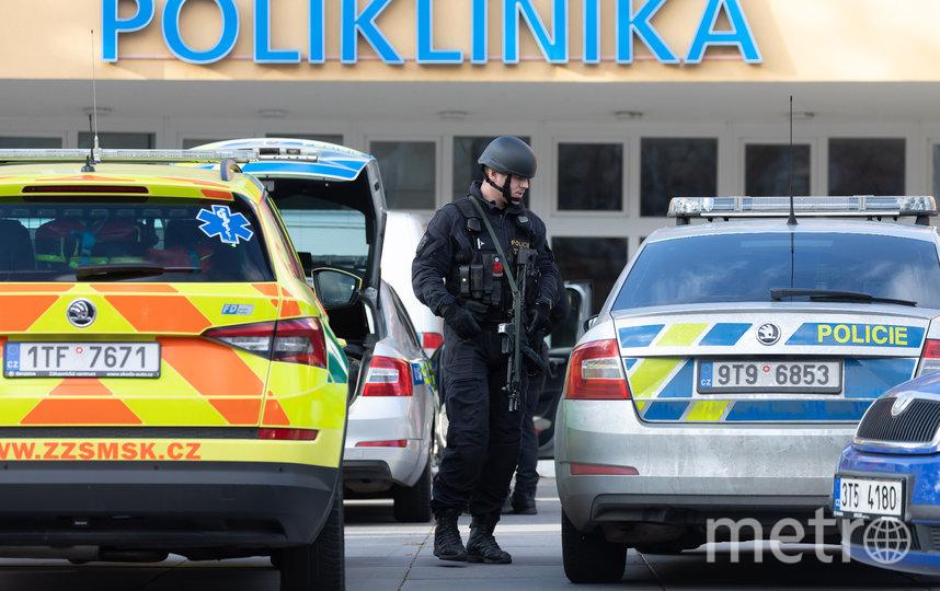 В больнице чешского города Острава произошла стрельба. Фото AFP