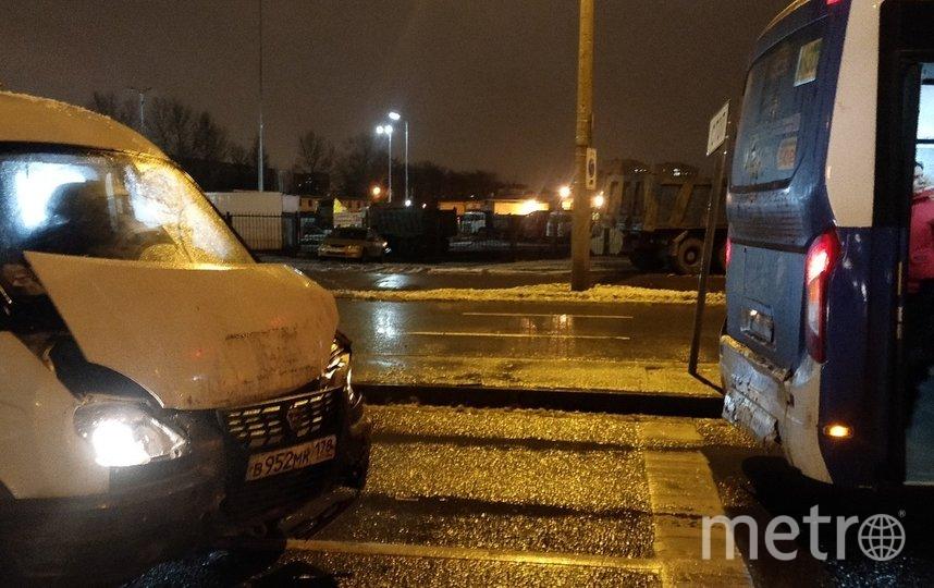 ДТП произошло 8 декабря. Фото ДТП и ЧП | Санкт-Петербург | vk.com/spb_today., vk.com