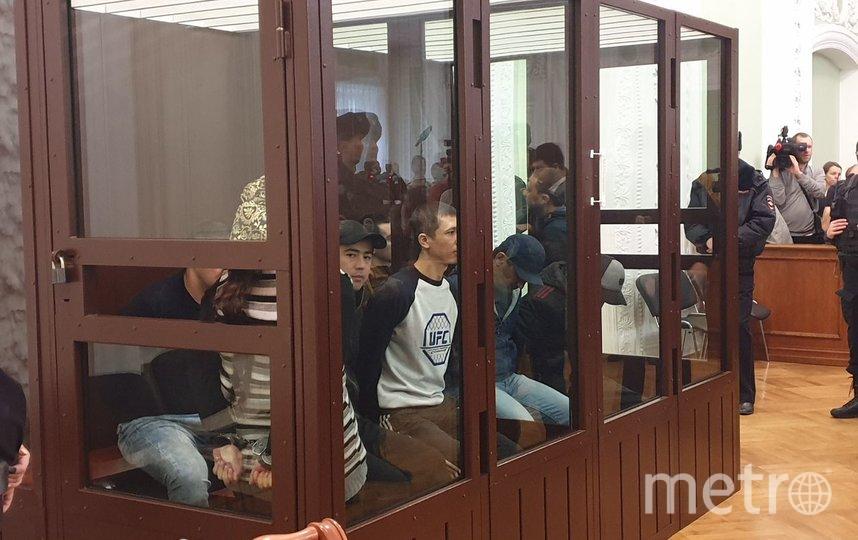 Перед оглашением приговора обвиняемые были крайне спокойны. Фото пресс-служба судов петербурга | Дарья Лебедева