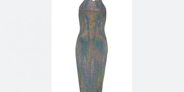 Голографическое платье, Boohoo   1200 – 2399 руб.