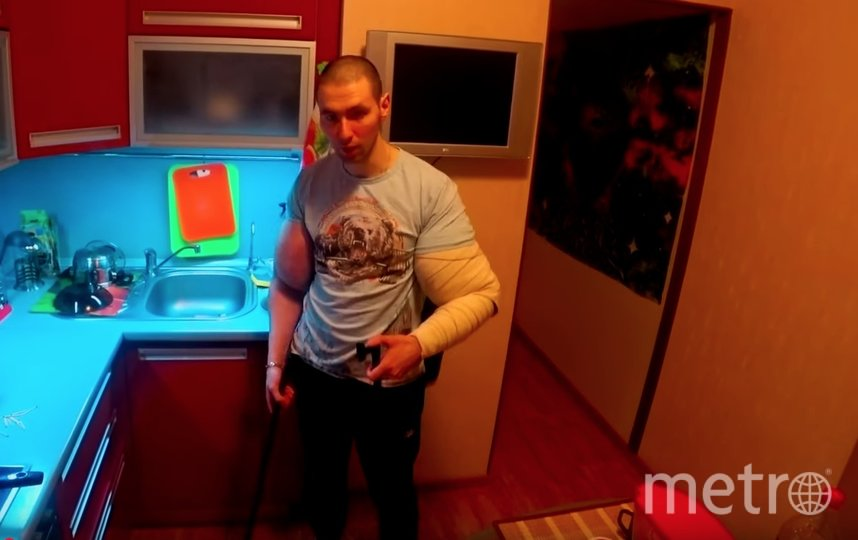 Скриншот видео из соцсети Кирилла Терешина. Фото Скриншот Youtube