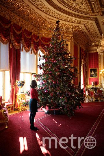 Букингемский дворец перед Рождеством в 2017-м году. Фото Getty