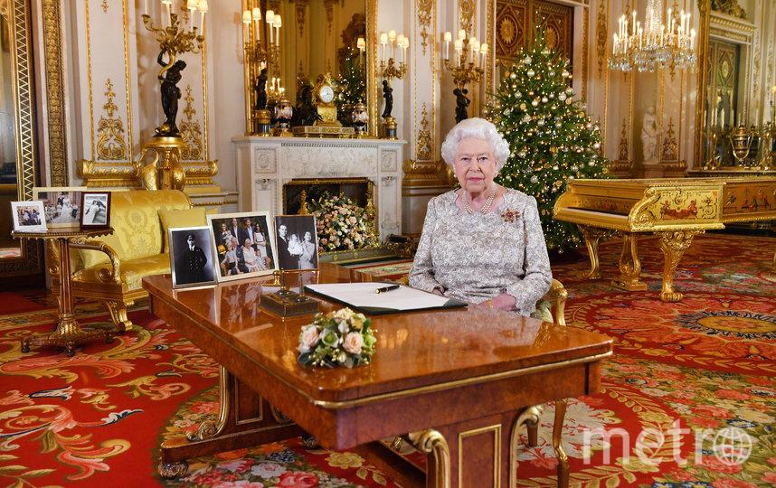 Рождественское обращение королевы в 2018-м году. Фото Getty