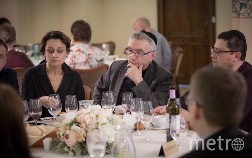 В Петербурге в Большой хоральной синагоге прошел израильско-венгерский ужин.