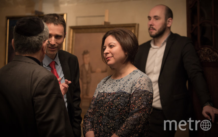 Генеральный консул Израиля Ольга Слов отметила важность гастрономических ужинов как вариант диппереговоров.