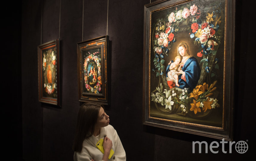 """В петербургской галерее открывается уникальная выставка """"Мадонна в цветах"""". Фото Святослав Акимов, """"Metro"""""""