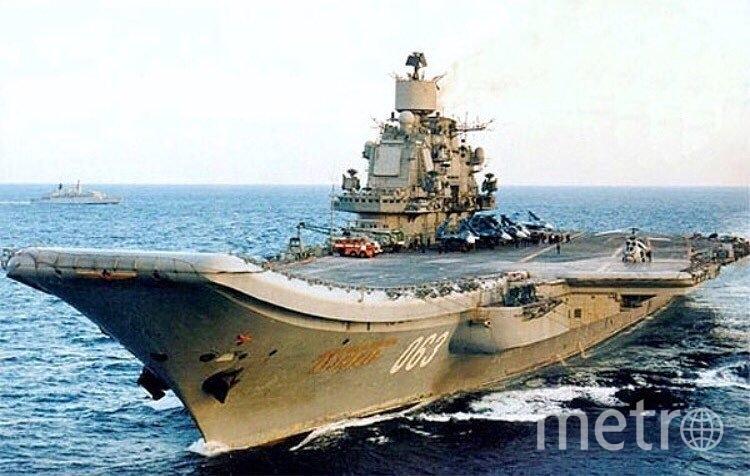 """Адмирал Кузнецов"". Фото instagram.com/p/BXKXLnIDpm-/"