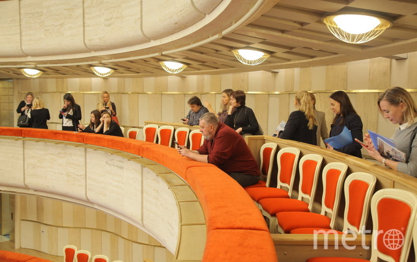 БФА. Театр Эйфмана. Балкон.