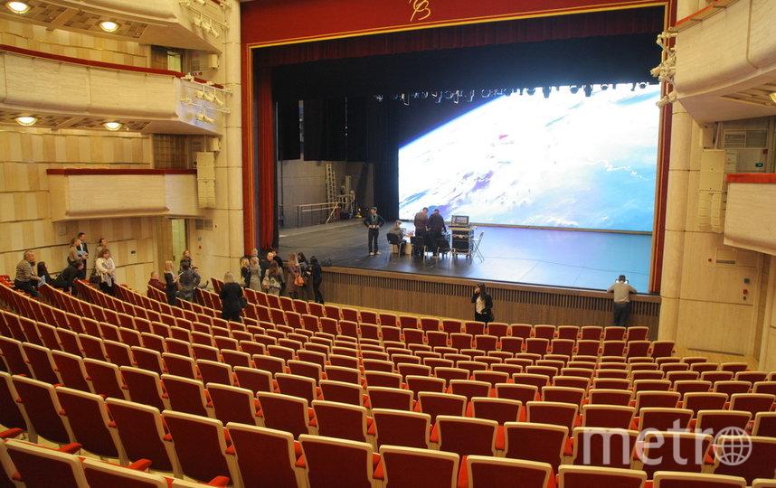 БФА. Театр Эйфмана. Зрительный зал и сцена.