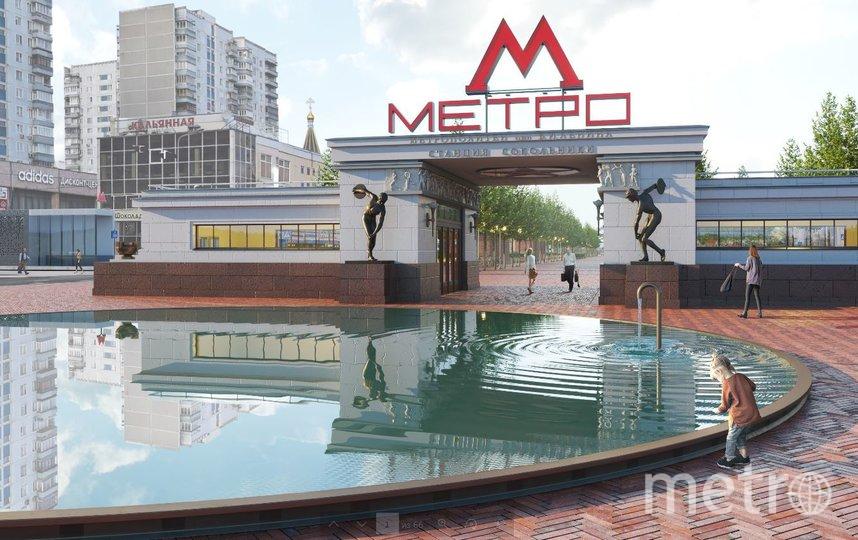 """Проектное решение. Фото бюро Megabudka, предоставлено пресс-службой Москомархитектуры, """"Metro"""""""
