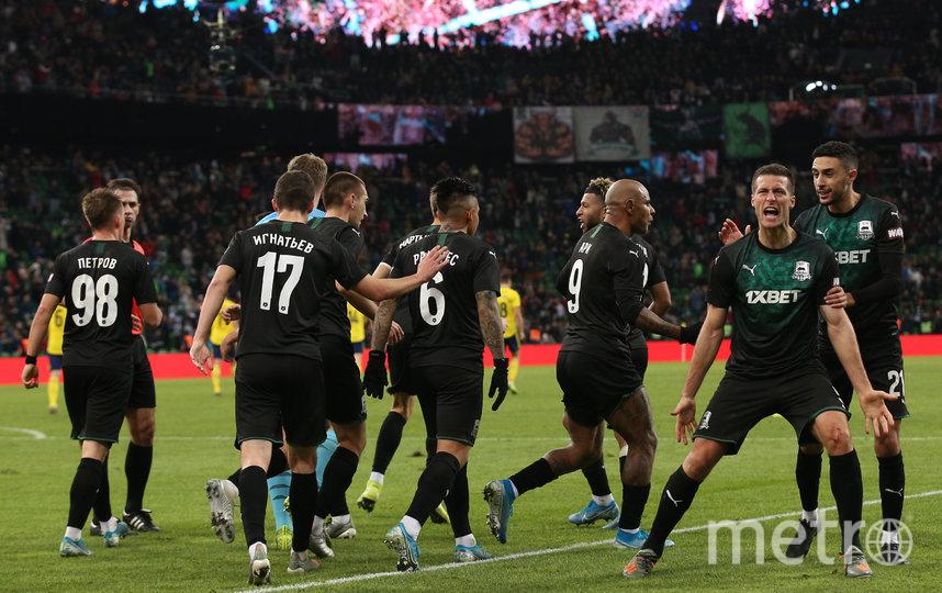 «Краснодар» в плей-офф Лиги Европы сегодня выведет только победа. Фото Getty