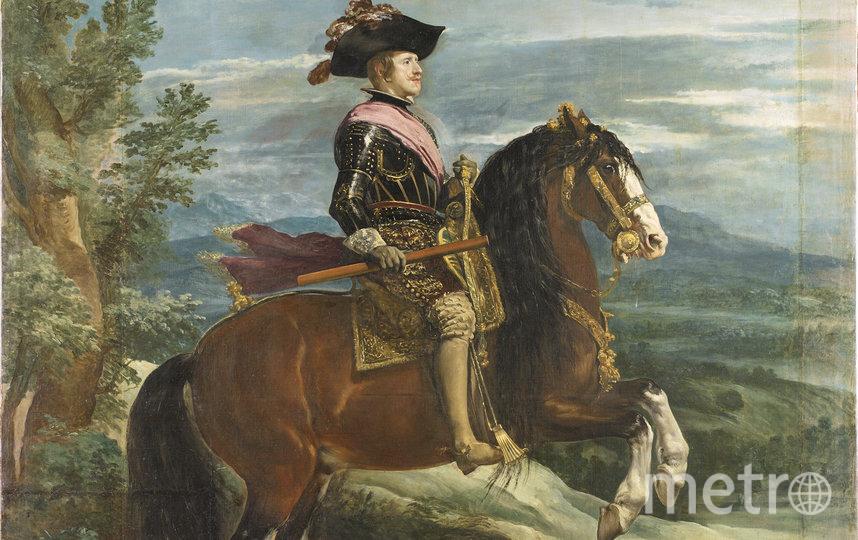 Портрет короля Филиппа IV. Диего Веласкес. Фото MUSEO DEL PRADO-WWF