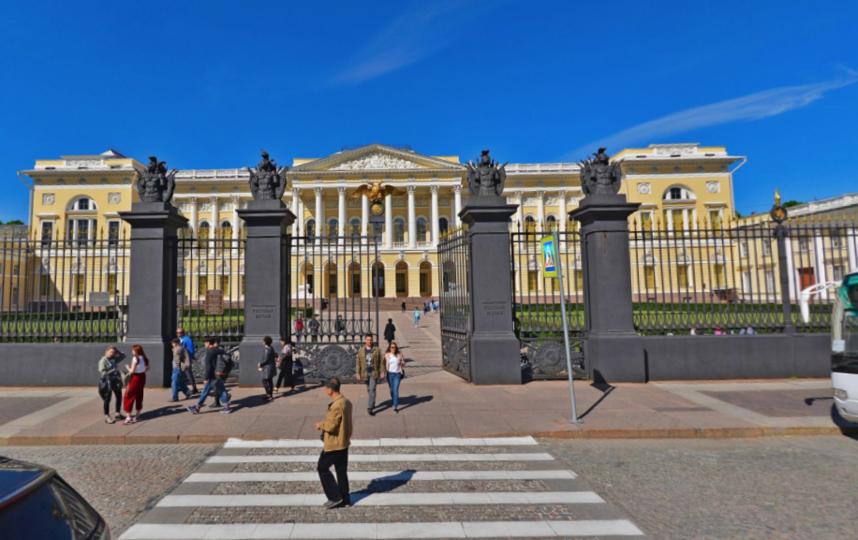 Русский музей. Фото Яндекс.Панорамы
