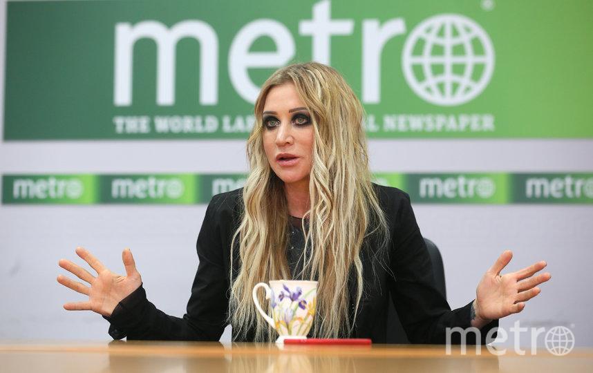 Певица Линда в столичной редакции Metro. Фото Василий Кузьмичёнок