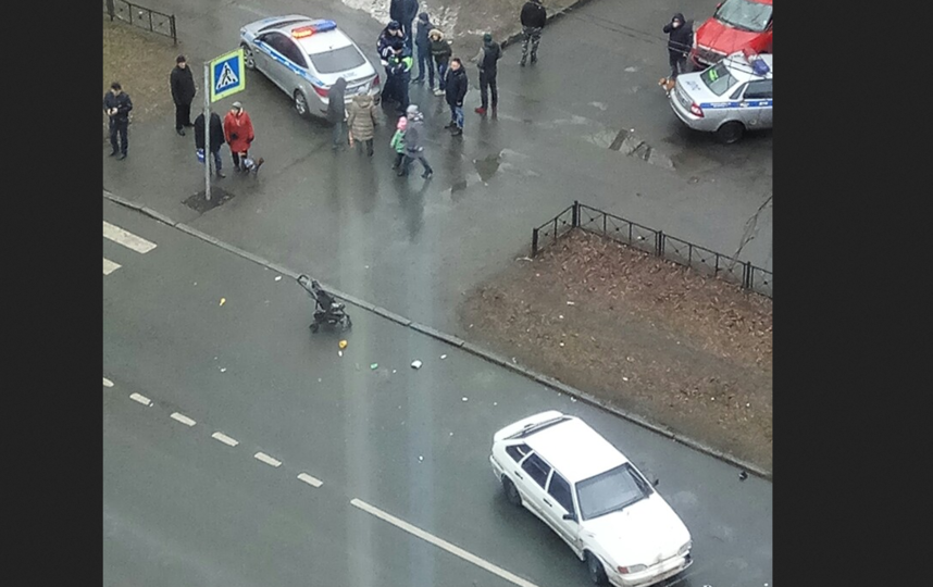 ДТП произошло в зоне пешеходного перехода. Фото ДТП/ЧП, vk.com