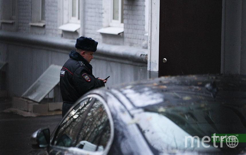 В Москве полицейский застрелил мужчину, который с ножом напал на свою мать. Фото Василий Кузьмичёнок
