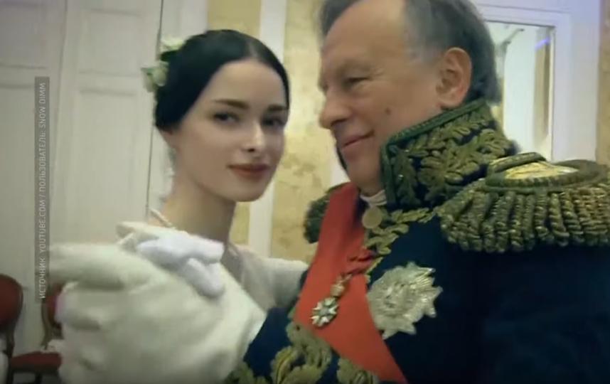 Анастасия Ещенко и Олег Соколов. Фото Скриншот Youtube
