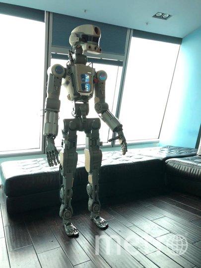 "FEDOR -Skybot f850. Фото предоставлено производителем робота, ""Metro"""