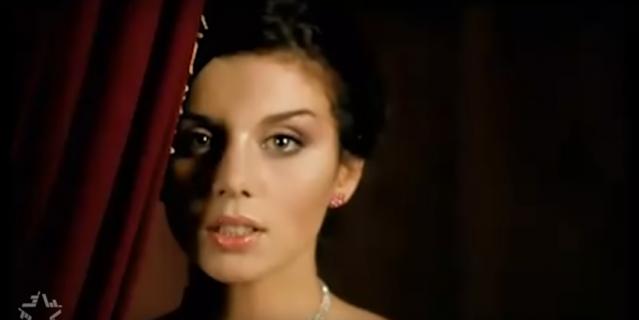 Анна Седокова в начале карьеры.