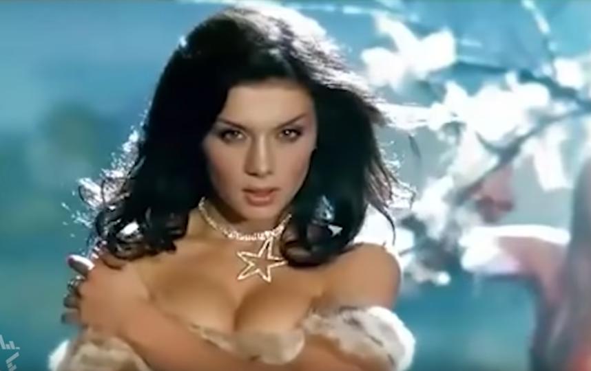 Анна Седокова в начале карьеры. Фото Скриншот Youtube