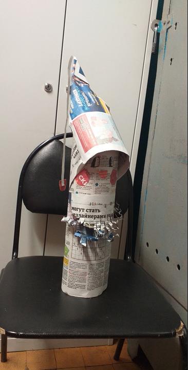 """У Магомедовой Дианы получился вот такой Дед Мороз. Фото Диана, """"Metro"""""""