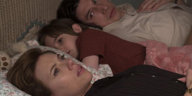 Бывшие супруги Николь (Скарлетт Йоханссон) и Чарли (Адам Драйвер).