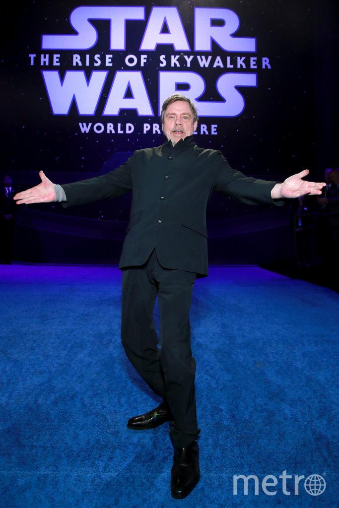 """Премьера 9 эпизода """"Звездных войн"""". Марк Хэмилл. Фото Getty"""