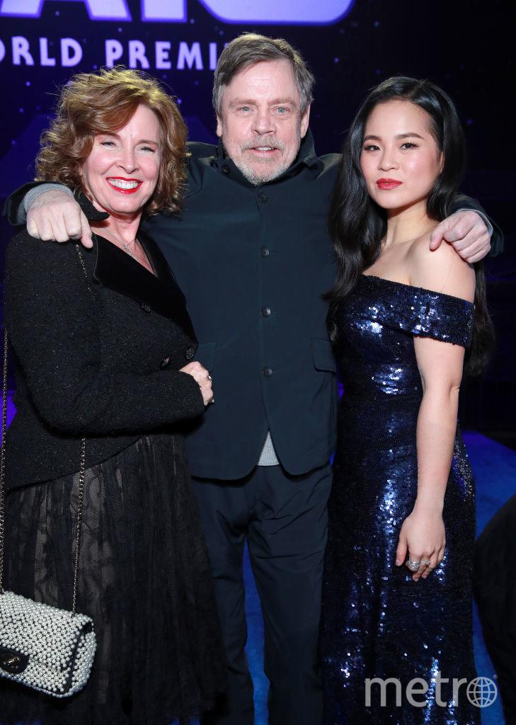 """Премьера 9 эпизода """"Звездных войн"""". Марк Хэмилл с женой Мэрилу Йорк, слева. Фото Getty"""