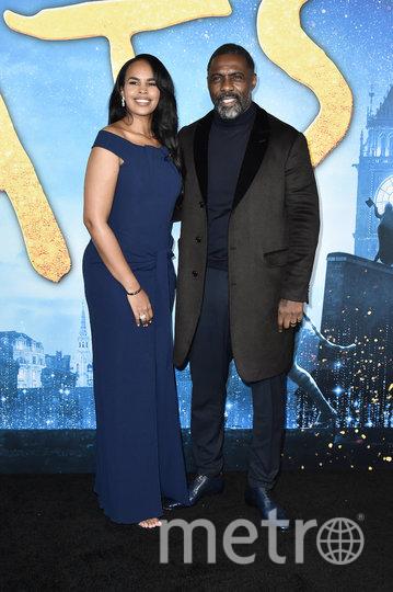 Идрис Эльба с женой. Фото Getty