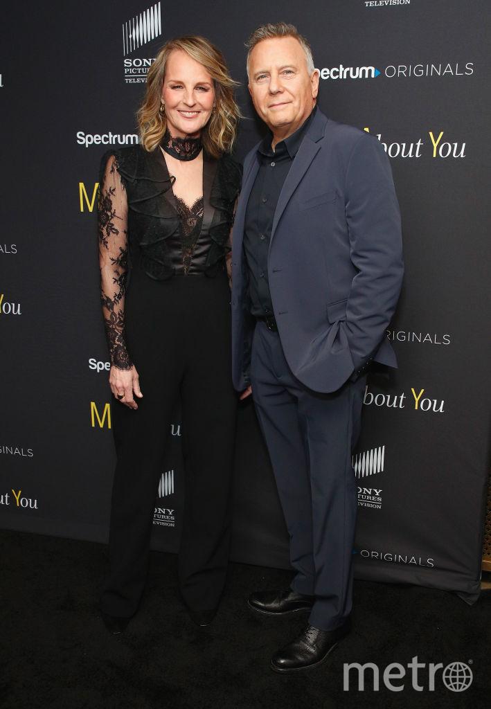 Хелен Хант с актером Полом Райзером. Фото Getty