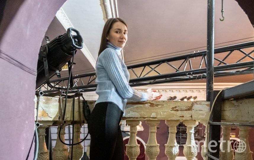 """Нашим гидом стала Александра Жарова. Фото """"Metro"""""""