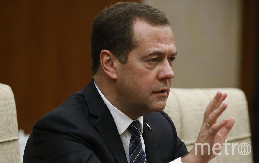 Медведев, архив. Фото Getty