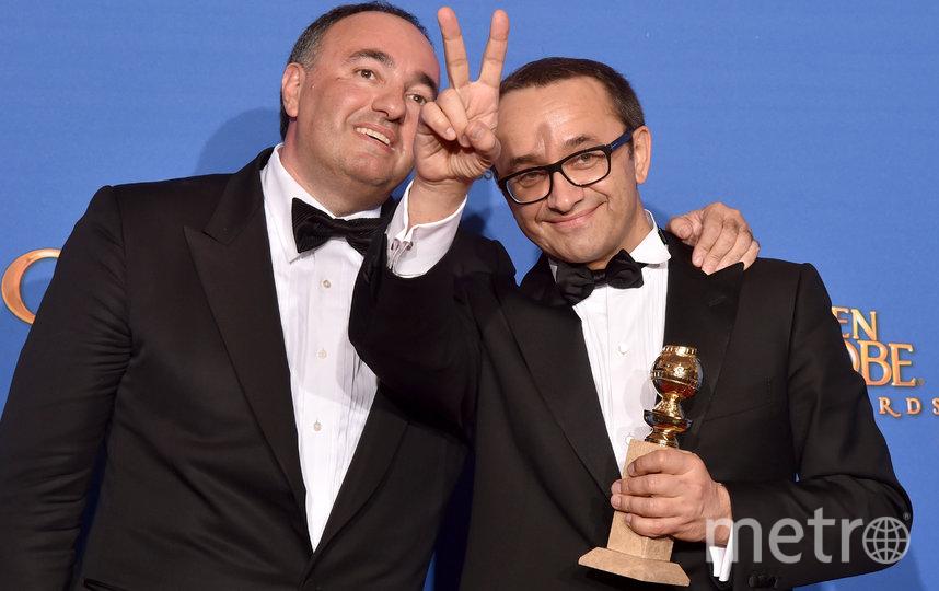 Александр Роднянский и Андрей Звягинцев. Фото Getty
